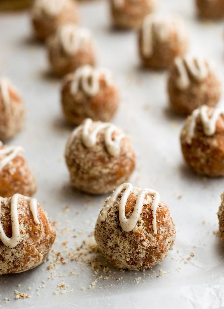 Recipe:  Carrot Cake Power Bites  — Snack Recipes from The Kitchn