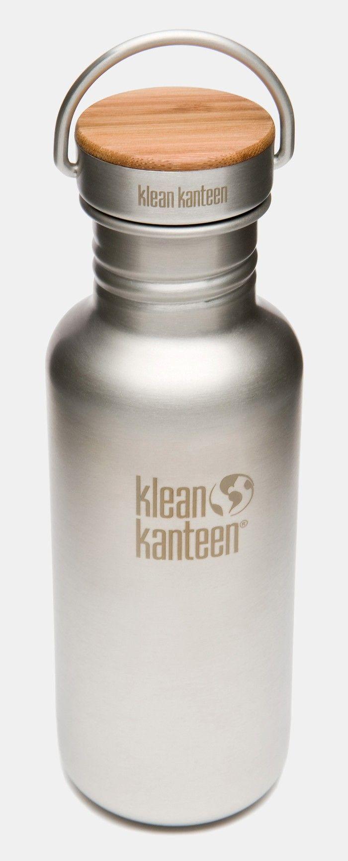 Klean Kanteen Reflect Trinkflasche (532 ml) - Gebürsteter Edelstahl | Echtkind