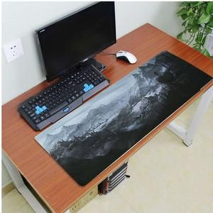 The Elder Scrolls V Skyrim Key Art Computer Gaming Mouse Mat