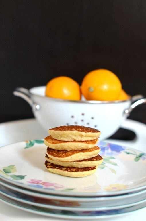 Ricotta Meyer Lemon Coin Pancakes via @shuliemadnick