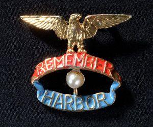 Remember Pearl Harbor Lapel Pin