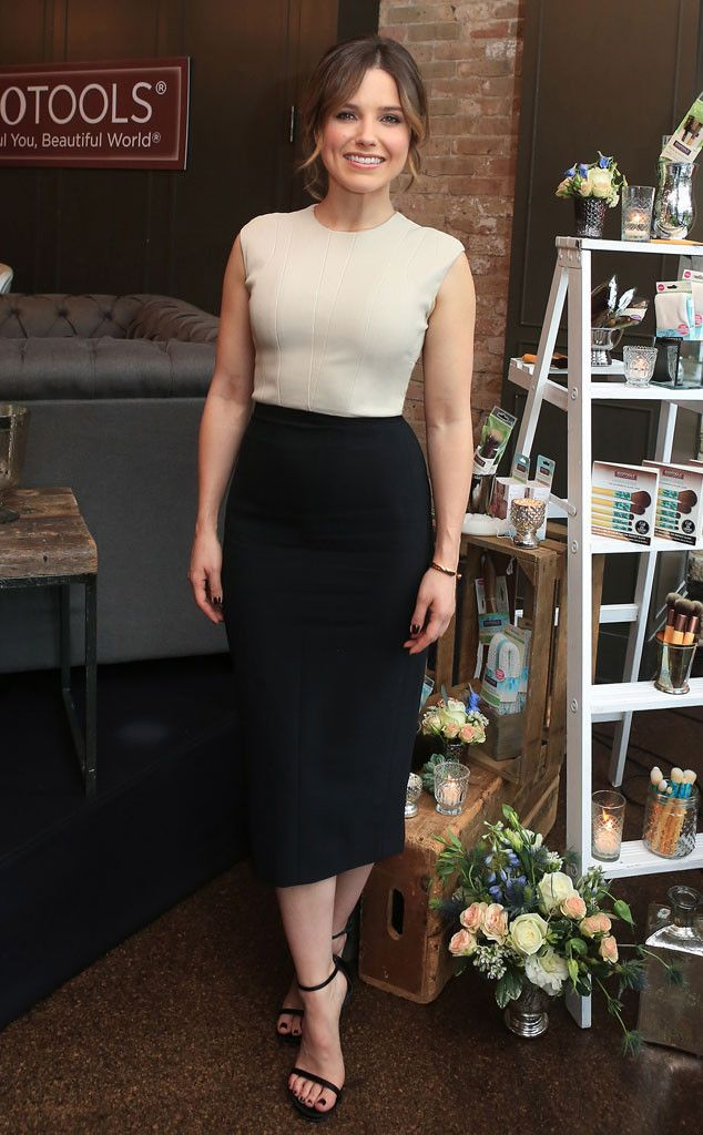 Sophia Bush from The Big Picture: Today's Hot Pics The One Tree Hill alum makes our best dressed list during a panel discussion to raise awareness for women's empowerment in Chicago.