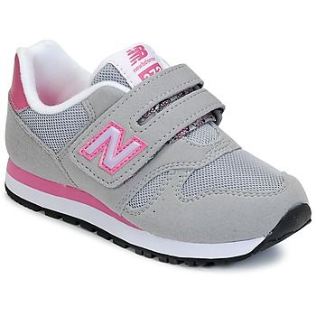 Baskets+basses+New+Balance+KV373+Gris+/+Rose+54.99+€