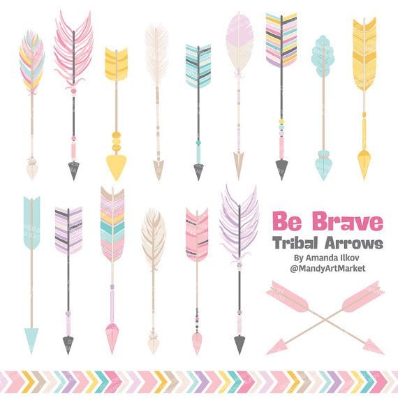 Hey, I found this really awesome Etsy listing at https://www.etsy.com/listing/229284835/professional-tribal-arrows-clipart