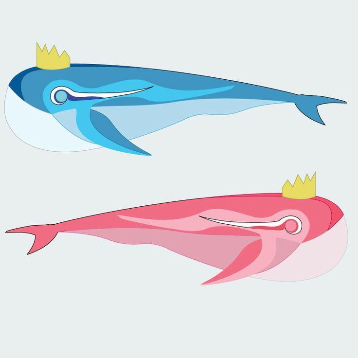 John & Yoko. Summer wars #whales #anime #summerwars