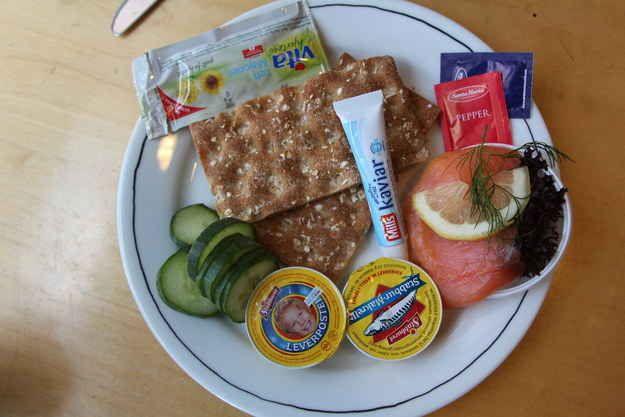 Matpakke: a light breakfast or lunch spread