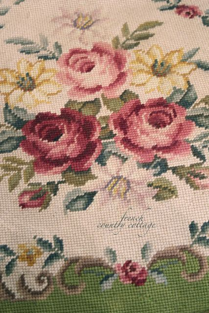 French country cottage french needlepoint chairs amp sale french country design pinterest