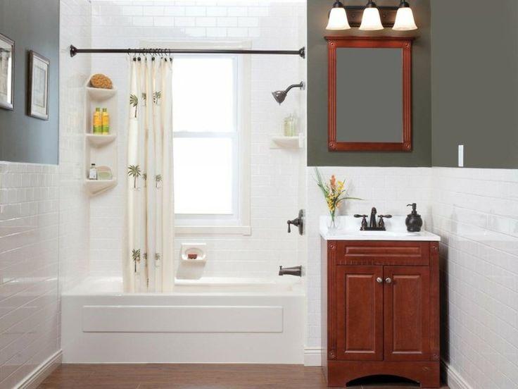rénovation de petite salle de bain contemporaine