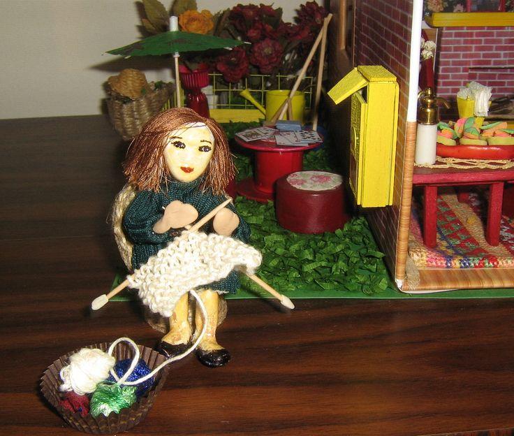 Amelie in small garden