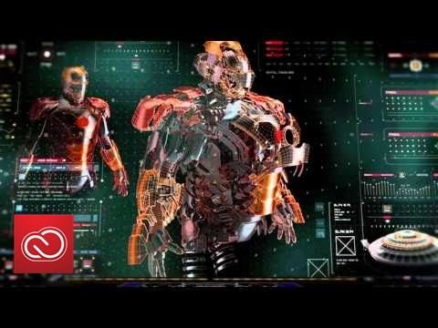 NAB Show 2016: Screen Graphics, 3D Design & Animation Work   Adobe Creative Cloud - YouTube
