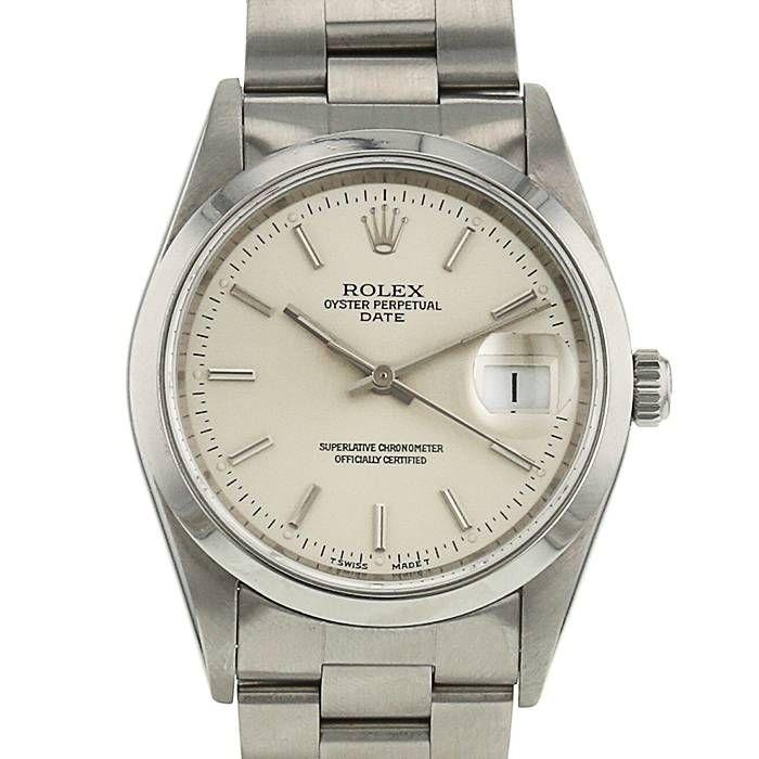 Reloj Rolex Oyster Perpetual Date de acero Ref : 15200 Circa 1995