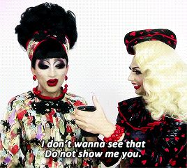 Bianca Del Rio and Alyssa Edwards