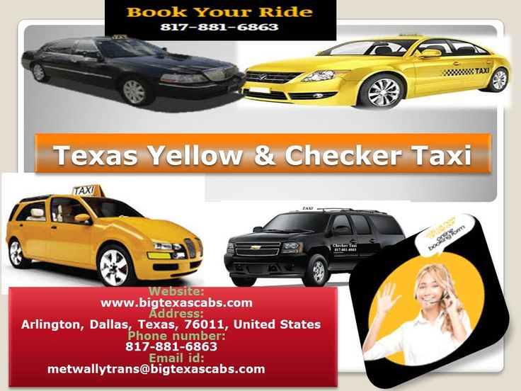 The yellow cab arlington tx should arrive at the designated pickup point on schedule and reach the destination on time. So, next time the question like 'how to find cab service in my area?' pops in your mind, make sure you know a reputable taxi service company in your area.