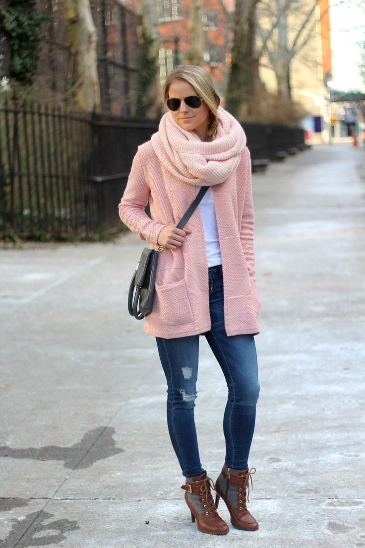 The 25  best Pink cardigan sweater ideas on Pinterest | Blush pink ...