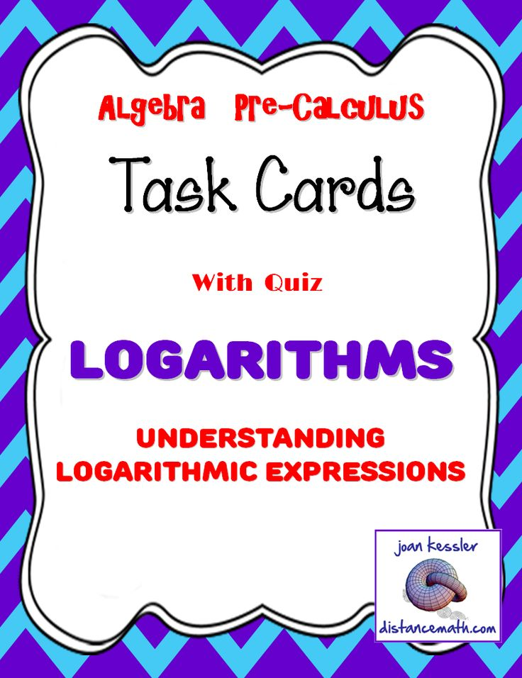 logarithms introduction task cards plus hw blank cards activities and the o 39 jays. Black Bedroom Furniture Sets. Home Design Ideas