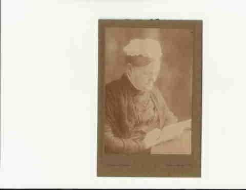 Hannah Brent wife of James Tarr