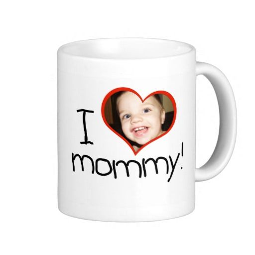"Personalised ""I *heart* mommy"" mug"