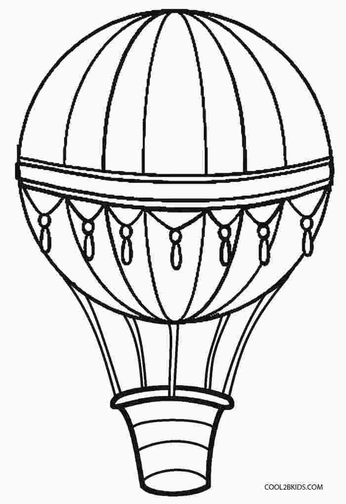 Coloring Book Pages Hot Air Balloon Diy Hot Air Balloons Hot