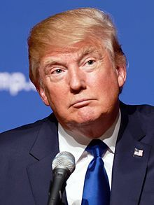 Donald Trump August 19, 2015 (cropped).jpg     What has america done??   WSho did we just put in office   a man that has 72 court charges    thanks america for ruining the next four years of my life