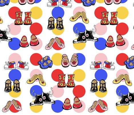 my 'Little Shoes' print design