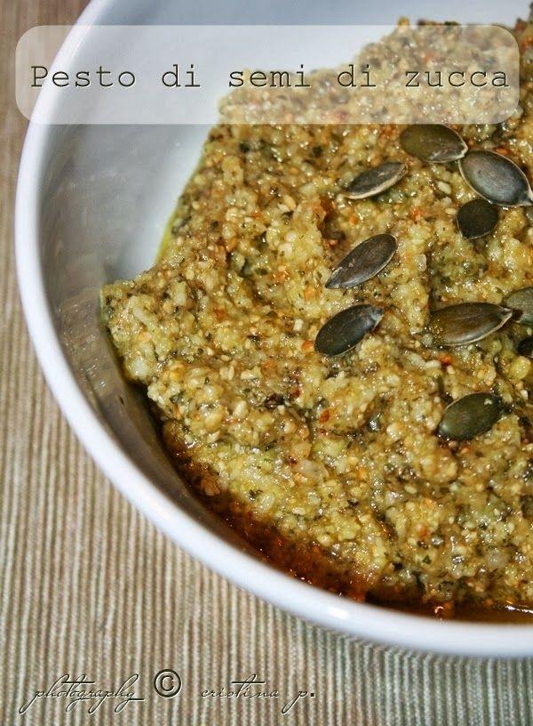 La zucca capricciosa: Pesto di semi di zucca