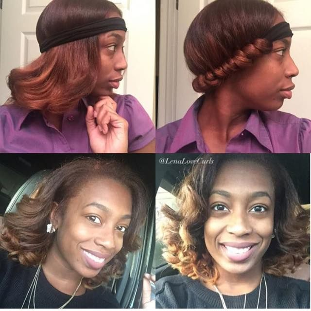 relaxed hairstyles