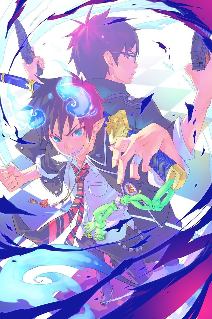 Rin and Yukio Okumura || Blue Exorcist || I do not have school today~~~~