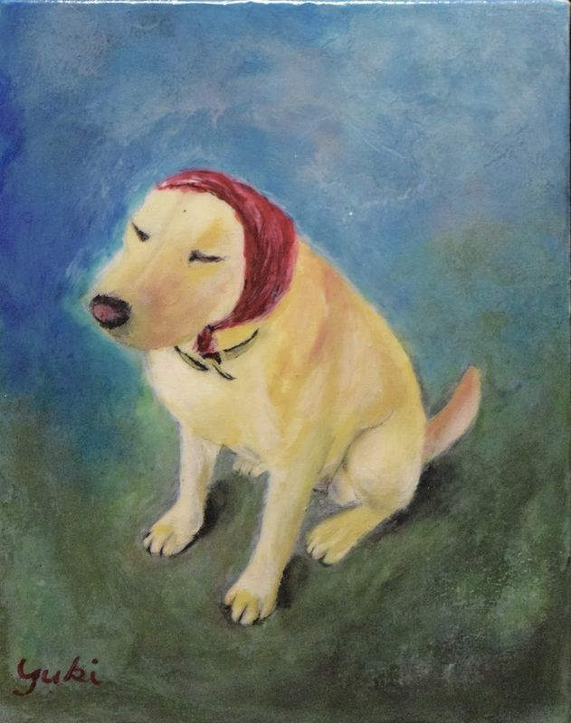 Yuki Cormier- Babushka- Watercolour Purchase /Contact: info@yukicormier.com- Current Online Art Exhibition - International Gallery Of The Arts (IGOA)