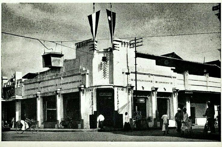 Chineese winkelwijk Petjinan Malang 1914-1939.