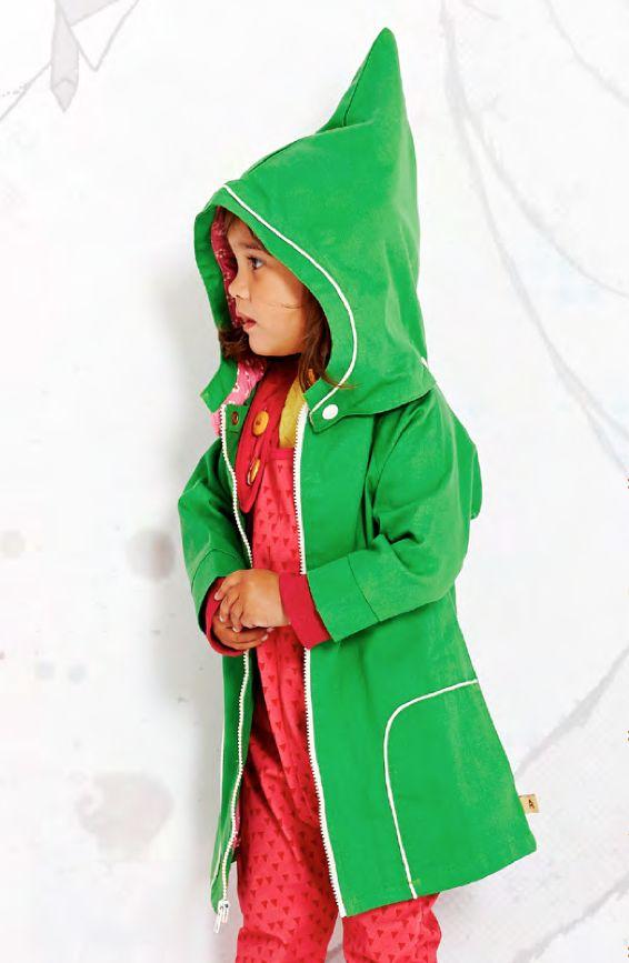AlbaBaby Jacket Erica Green - Groene lente/zomerjas