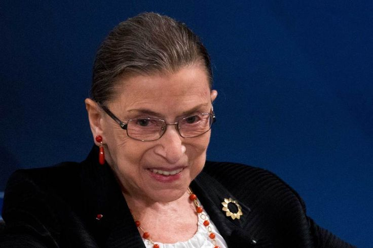 Ruth Bader Ginsburg Says She Has Quite a Large Supply of Notorious RBG Shirts
