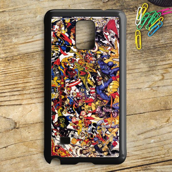 The Avengers Characters Art Samsung Galaxy Note 5 Case | armeyla.com