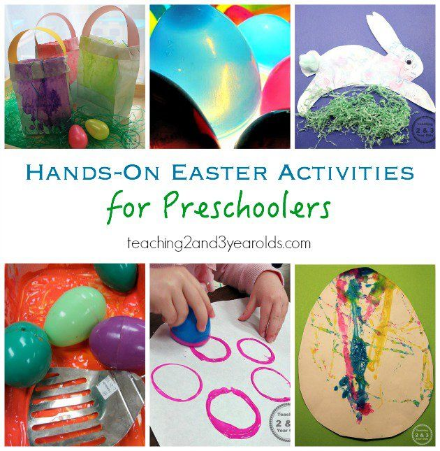 Christmas Craft Ideas For 2 Year Olds Part - 48: Easter Ideas For Kids - Easter Art, Easter Colors, Easter Sensory -  Teaching 2