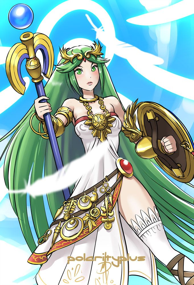46 Best Images About Lady Palutena On Pinterest