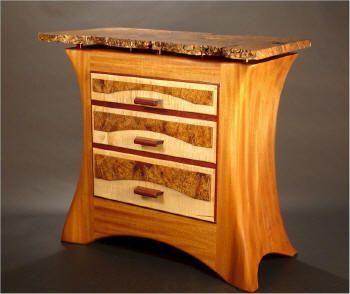 Alabama Designer/Craftsmen Wood Artist Bill Palmer