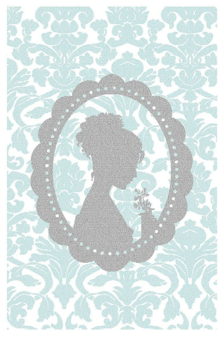 "Everything on this website is gorgeous, but this Jane Austin ""Emma"" print resembles my Jac & Elsie silhouette."