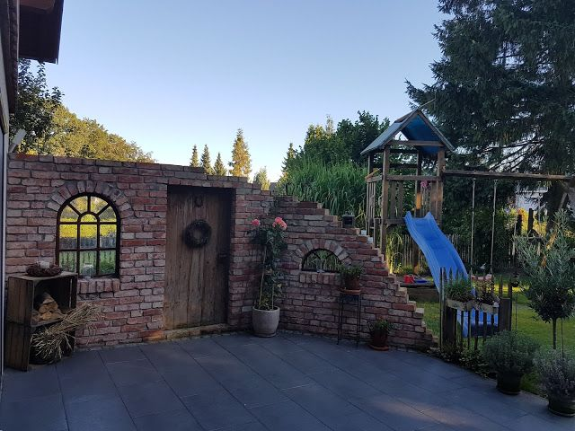 185 best Mauer images on Pinterest | Garden walls, Decks and Brick