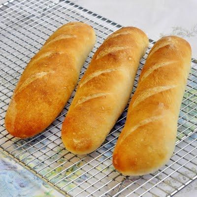 French Baguette - a terrific weekend baking project.