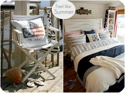 Themed bedding- nautical