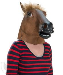 Animal Head Masks - Creepy Horse