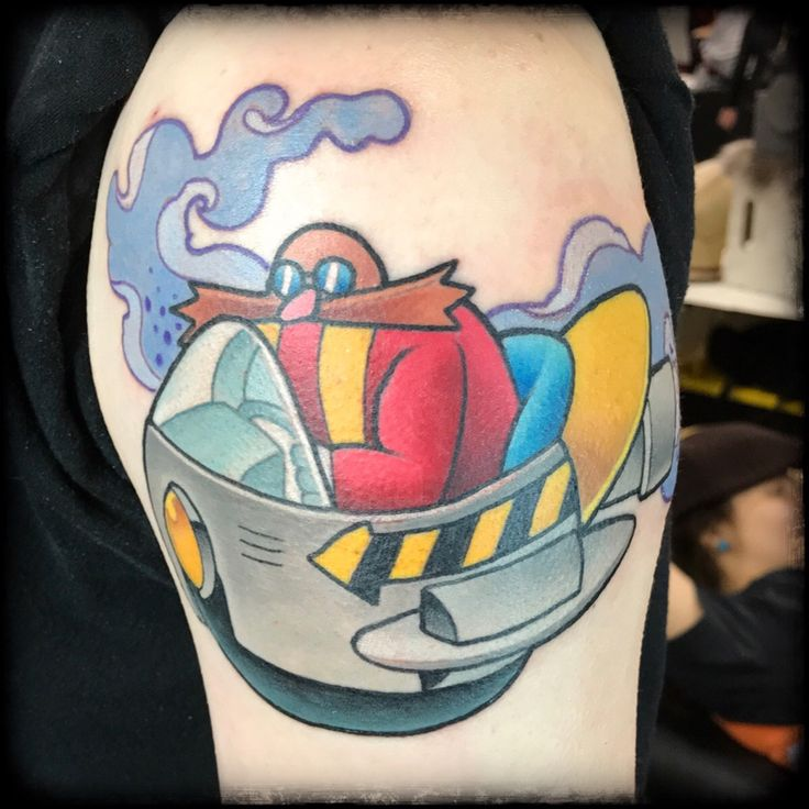 Dr robotnik by taylor mills the philadelphia tattoo for Tattoo convention pa