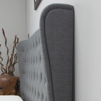 Kensington Grey Ottoman Bed