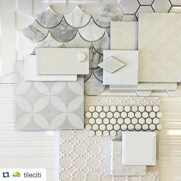 Classic || White on White #white #tiles #tilelove #marble #porcelain #interiordesign #interiors #tile #pattern #TileCiti #tileshop #Melbourne by tileciti