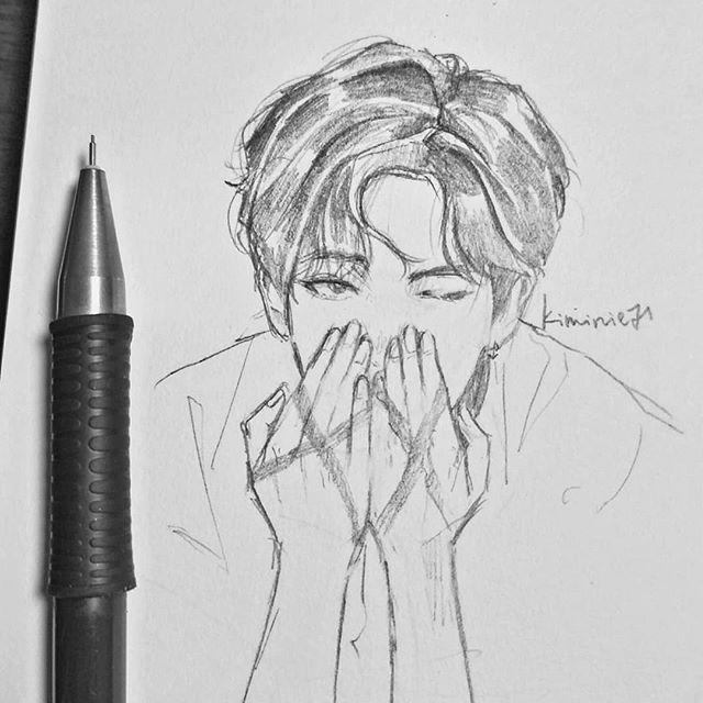 Innnsst Kiminie71 Bts Art Rm Namjoon Btsrm Bts Drawings