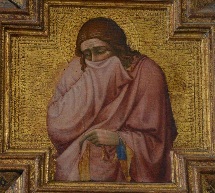 Siena Taddeo di Bartolo Giovanni - crocifisso (my photo)