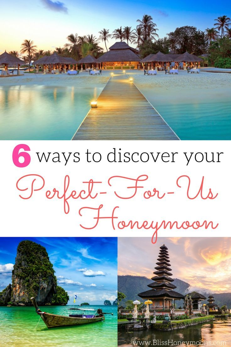 Amazing, this guide for helping me choose the best honeymoon destination was such a lifesaver! I've stopped pulling out my hair and started smiling again. Major decision made easier, stress levels lowered--Bliss Honeymoons is a new fave! 6 ways to discover your best honeymoon destination is a winner.
