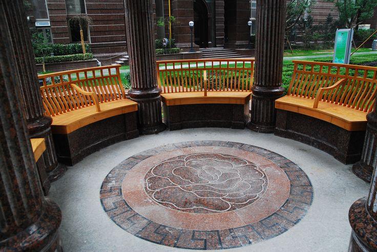 Furniture made from Accoya® Wood for communal gardens, Shanghai. #accoya #wood