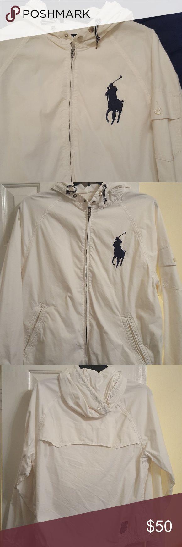 Casual Polo Jacket Light casual jacket. It has a dress shirt feel to it. Metal zippers. Ralph Lauren Blue Label Jackets & Coats Lightweight & Shirt Jackets