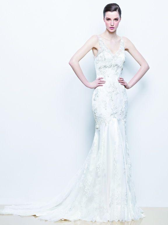 Enzoani wedding dress collection 2014 - Indigo lace wedding dress