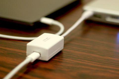 Mac向けバッテリHyperJuiceでUSB Type-C給電を可能にするアダプタ